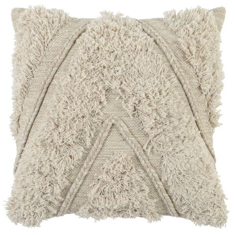 The Curated Nomad Romolo 22-inch Cotton Throw Pillow
