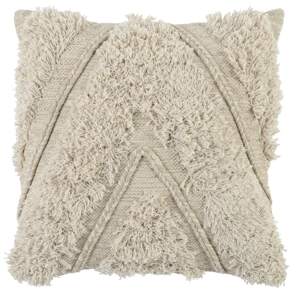 The Curated Nomad Romolo 22-inch Cotton Throw Pillow. Opens flyout.