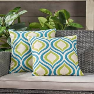 Buy Fabric Ikat Outdoor Cushions Pillows Online At Overstock