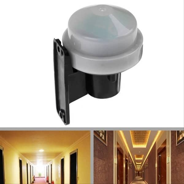 Photocell Light Switch Durable Sensor Switch Automatic On Off Photoswitch#^