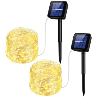 Mpow Solar String Lights, 33ft 100LED Outdoor String Lights, Waterproof Decorative String Lights