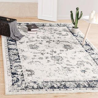 LNC Distressed 5'x7'Mat Stain Fade Resistant Area Rug