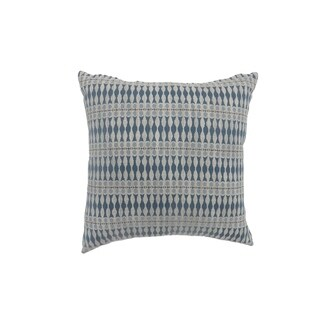 Contemporary Style Simple Traditionally Designed Set of 2 Throw Pillows, Blue