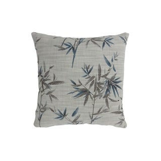 Contemporary Style Set of 2 Throw Pillows, Blue