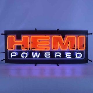 Neonetics Indoor Hand Blown Hemi Powered Neon Sign with Backing