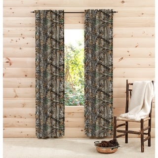 "Realtree Edge 84 Inch Curtain Panel Pair - 40"" w x 84"" l"