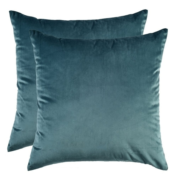 Decorative Couch Cushion Cover Soft Sofa Euro Sham With Zipper Hidden