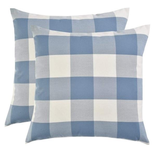 Shop Decorative Cotton Blend Dyed Bed Throw Pillow Case