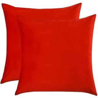 Velvet Pillow Case Decorative Couch Cushion Cover Soft Sofa Euro Sham