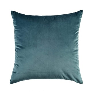 """Throw Pillow Case Decorative Couch Cushion Cover 18""""x18""""(Peacock Blue)"""