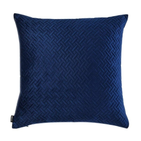 Shop Throw Pillow Case Decorative Couch Cushion Cover Navy Blue Sale Free