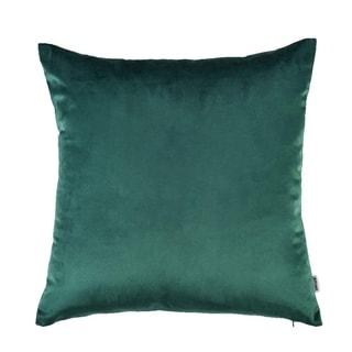 "Velvet Pillow Case Couch Cushion Cover Soft Sofa, 18""x18"" (Dark Green)"