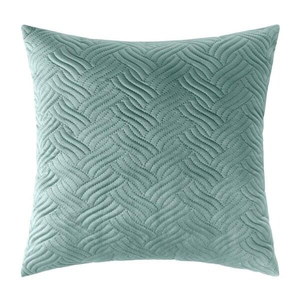 "Decorative Couch Cushion Cover Soft Sofa Euro Sham,20"" x 20"" (Seafoam)"