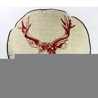 Realtree Deer Head Dec Pillow