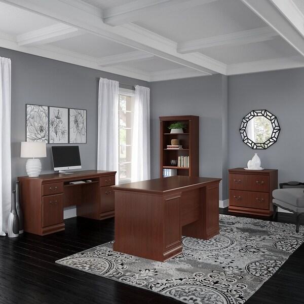 Shop Copper Grove Varna 60-inch Executive Desk, Credenza