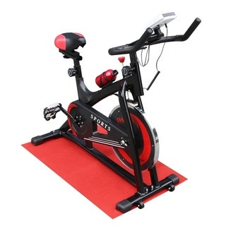 ALEKO Steel Indoor Fitness Stationary Cycling Bike Digital Display