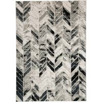 Grand Bazaar Orin Gray/Silver Area Rug - 8' x 11'