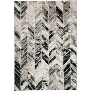 """Grand Bazaar Orin Gray/Silver Area Rug - 10' x 13'2"""""""