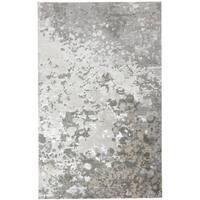 """Grand Bazaar Orin Silver/Gray Area Rug (1'8"""" x 2'10"""") - 1'8"""" x 2'10"""""""