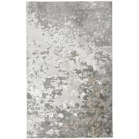Grand Bazaar Orin Silver/ Gray Area Rug - 5' x 8'