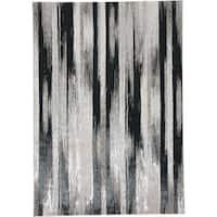 "Grand Bazaar Orin Black/Silver Area Rug (10' x 13'2"") - 10' x 13'2"""