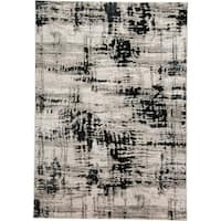 Grand Bazaar Orin Black Area Rug (5' x 8') - 5' x 8'