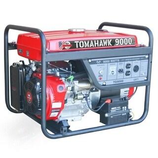 9000 Max Watt Portable Generator Set, Gas Powered 120/240V - N/A