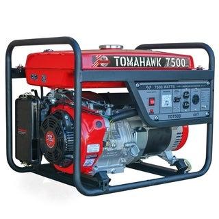 7500 Max Watt Portable Generator Set, Gas Powered 120/240V - N/A