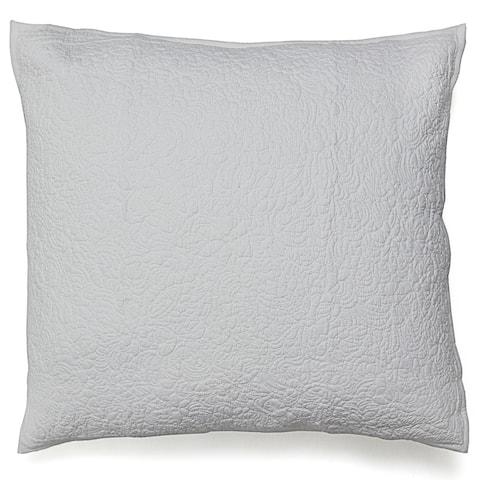 Cottage Home Alysse Textured Cotton 16 Inch Throw Pillow