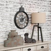 Time Wind Decorative Metal Wall Clock