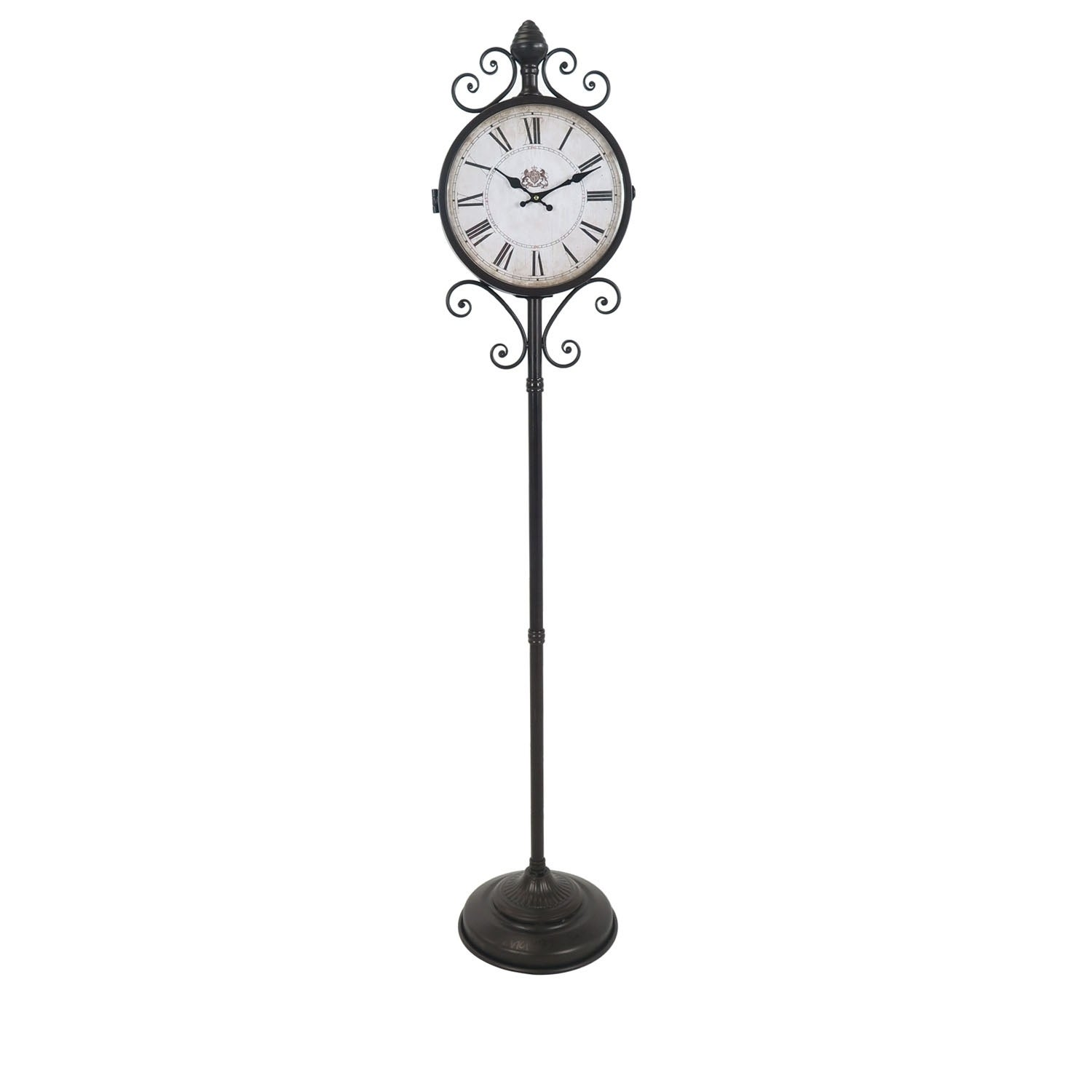 Shop Standing Time Decorative Floor Clock Overstock 22723803
