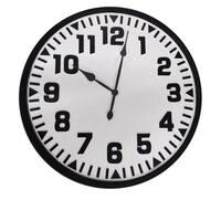 "Modern Hours 31.5"" Decorative Wall Clock"