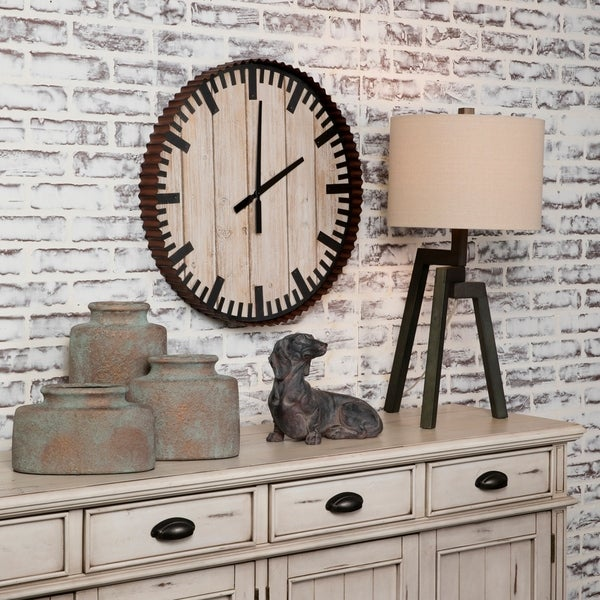 Past Time Wall Clock