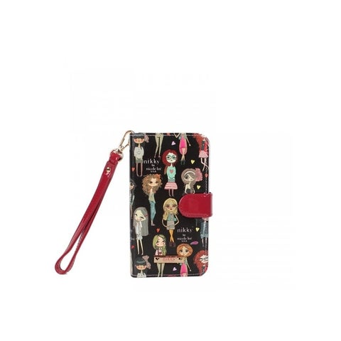 Nikky Girls Print Universal Phone Case with Removable Wrist-let