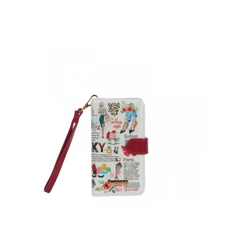 Nikky Loves Fashion Print Universal Phone Case Removable Wrist-let