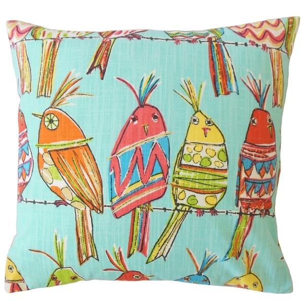 Zakkai Graphic Throw Pillow Sky