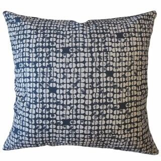 Aceline Geometric Throw Pillow Navy