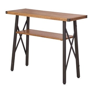 International Caravan Hamburg Contemporary 2-Tier Console Table