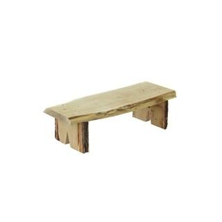 3 ft. Decorative Bench in Live Edge Locust Wood