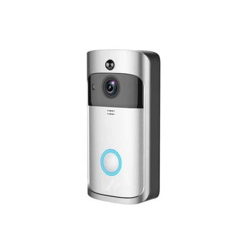 Smart Wireless Doorbell HD 720P WIFI Wireless Video Doorbell (Batteries Not Included)