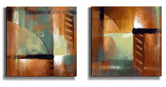Loreth Summer Soiree Stretched Canvas Art Set II