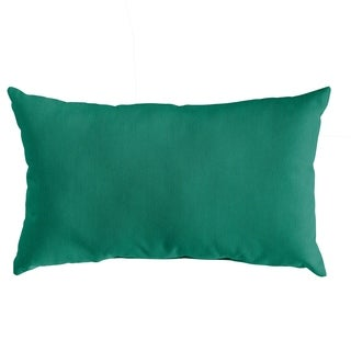 Shop Pillow Perfect Outdoor Indoor Rave Indigo Throw