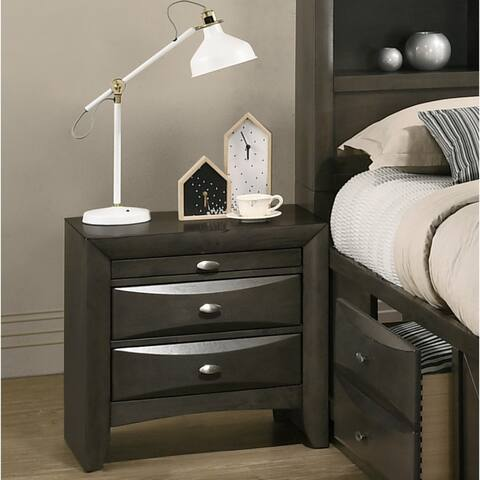 Strick & Bolton Martyn Solid Wood Nightstand
