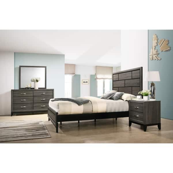 Shop Stout Panel Bedroom Set with Bed, Dresser, Mirror ...