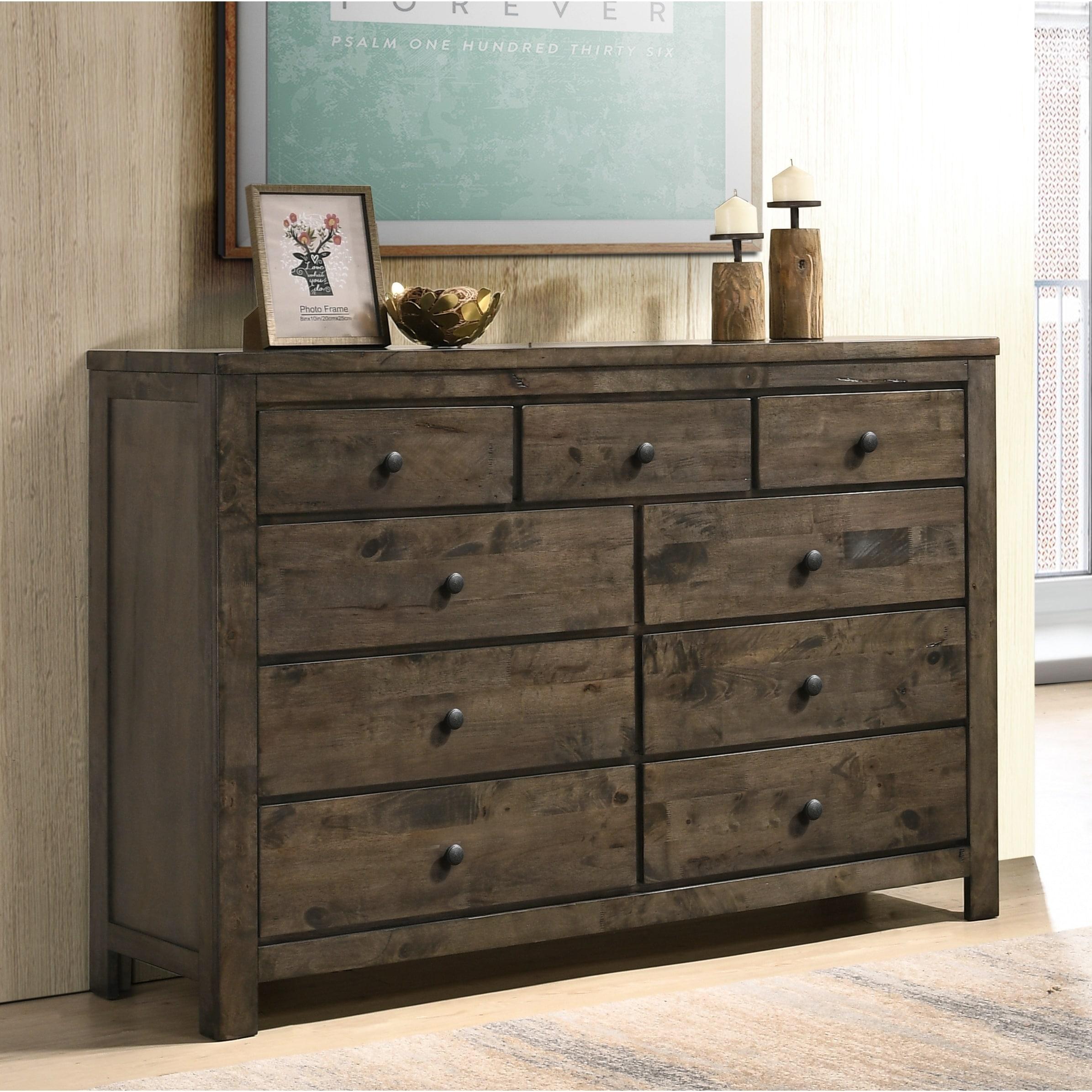 Pavita Weathered Distressed Dresser