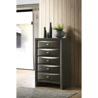 Leslie Gray Solid Wood Chest