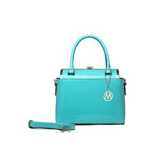 MKF Collection Marisol Glossy Handbag by Mia K Farrow