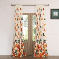 Barefoot Bungalow Falling Leaves Curtain Panel Pair - 42 x 84