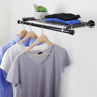 InStyleDesign Single Shelf with hanger - Black