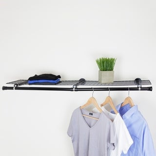 InStyleDesign Double Shelf with hanger - Black